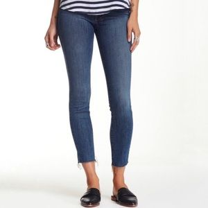 Mother High Waist Looker Ankle Fray Jeans | Sz 26